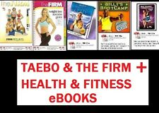 The Firm & TaeBo PDF Workout Training Nutrition Guide + Health & Fitness Bonuses