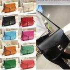 Women Girl Fashion Satchel PU Leather Handbag Messenger Shoulder Bag Tote Purse