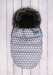 Belisima Baby Winter Fußsack  Kinderwagensack Winter Schlafsack