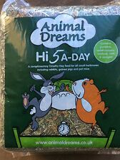 Hi 5 a Day Timothy Hay MINT Marigold Beetroot Sweet Peppers Rabbit Tortoise