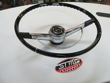 1964 IMPALA NEW STEERING WHEEL HORN RING ,CENTER CAP HORN BUTTON GM LISENCED OER