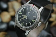 Vintage ZODIAC Sea Wolf Automatic Cal. 70-72 Glossy Black Dial 20ATM Dive Watch