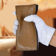 Fashion Men's Faux Leather Bifold Long Wallet Cash Card Holder Purse Gracious