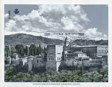 Spain 2017 MNH Granada World Heritage Urban Centres 2v M/S Architecture Stamps