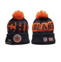 2021 Chicago Bears New Era NFL Knit Hat On Field Sideline Beanie Hat Football 😍