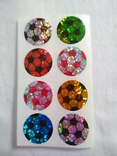 COOL PRISMATIC SOCCER BALL STICKERS!! HAMBLY STUDIOS. WOW!! ****MUST SEE!!****