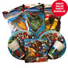 Marvel Avengers Birthday Party Decorations Bundle Party Tableware Set Pack