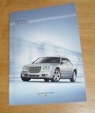 Chrysler 300C Saloon Brochure 2007 - 3.0 V6 CRD & 6.1 SRT8