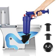 Air Power Drain Blaster Gun High Pressure Manual Sink Bath Toilet Pipe Opener