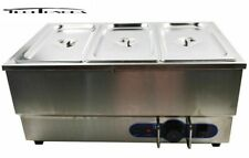 Stainless Steel 110v 3 Pot Bain Marie Buffet Food Desktop Warmer 2541478