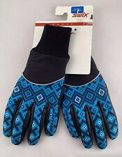 New listing Swix Women's Ski Gloves Turquoise Print New Size 6 / Small