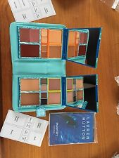 LAUREN HUTTON Passport South Pacific Makeup set  DARK.  NIB.  Plus free gift!