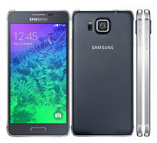 "New Unlocked Samsung Galaxy Alpha SM-G850F 32GB 4.7"" SmartPhone Charcoal Black"
