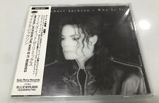 Michael Jackson Who is it CD Single Japan OBI No Promo Dangerous