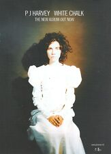"PJ HARVEY White Chalk UK Press ADVERT 11x8"""