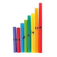 1 Pack 8 Pitch Music Tubes C Major Diatonic Scale Tube For Children Gift