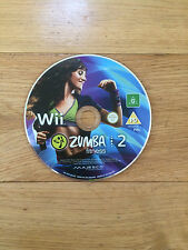 Zumba Fitness 2 for Nintendo Wii *Disc Only*
