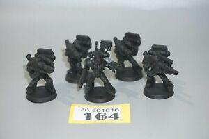 Warhammer 40k Space Marine Devastator Squad x 5 - LOT 164