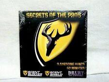 Scentblocker Secrets Of The Pros DVD 9 Awesome Hunts 60 Min Elk + Whitetail Deer