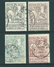 BELGIUM 1910 Exhibition used SET