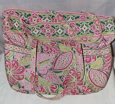 Vera Bradley Extra Large Tote in Retired Pinwheel Pink Pattern