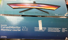 """Samsung Curved Monitor 27"""" Model CF396. New Opened Box"""