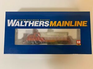 WALTHERS MAINLINE HO EMD GP9 PH2 ILLINOIS CENTRAL #9174 SOUND AND DCC