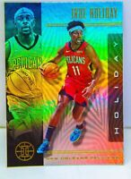Jrue Holiday 2019-20 Panini Illusions Silver Holo Refractor Card #36 Pelicans