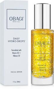 Obagi Daily Hydro Drops Facial Serum 1oz / 30ml NEW in Box FRESHEST ON EBAY