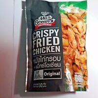 Crispy fried chicken, original flavoured, snack delicious chicken skin fried
