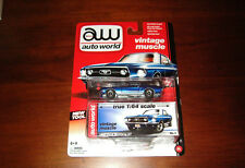 """moc RARE 2013 AUTO WORLD """" 1967 FORD MUSTANG GT """" NEW TOOL VINTAGE MUSCLE"""