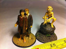 Frodo Sam Gollum Lord of the Rings LOTR Metal Figures Collectable Bundle