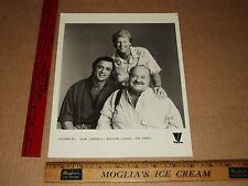 Original VTG Joe Penny, William Conrad, Alan Campbell Viacom Promo Press Photo