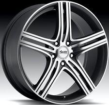17X7 Advanti Racing Rev 5x110 ET40 Gun Metal Rims Wheels
