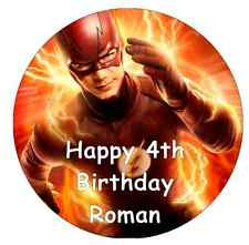 "The Flash Personalised Cake Topper 7.5"" Edible Wafer Paper"