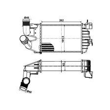 Ladeluftkühler NRF 30307