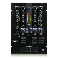 Reloop RMX-33i - 3-Channel DJ Mixer with iPad connectivity / compatability