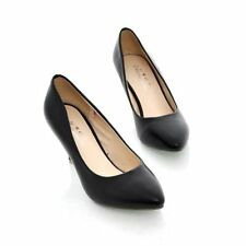Women's Pointed Toes Shoes Synthetic Leather High Heels Pumps US All Size S109