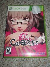 Catherine (Microsoft Xbox 360, 2011) Complete