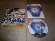 JEU PS3 PAL Version Française: PES 2012 PRO EVOLUTION SOCCER - Complet TBE