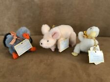 Muffy Vanderbear Down on the Farm Animals Lucy Webster Mary Rudi pig duck Lot