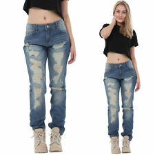 Boyfriend Ripped, Frayed L30 Jeans for Women