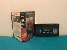 Star trek la colere de Khan VHS tape & clamshell case FRENCH