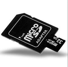 Micro SD Card Mini Memory Card 32gb + Adapter - UK Seller