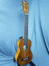 MIM: Ohana Long Neck Soprano SK-270M All Solid Acacia Setup Ukulele -716