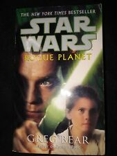 Star Wars Rogue Planet Greg Bear Lucas Books 2001 mmpb jedi new republic anakin