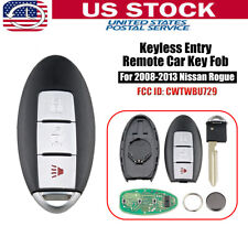For 2008 2009 2010 2011 2012 2013 Nissan Rogue Keyless Remote Key Fob CWTWBU729
