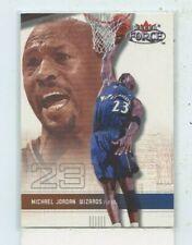 MICHAEL JORDAN 2001-02 Fleer Force Basketball  #61 Washington Wizards