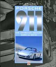 Porsche 911 (997 model) the Definitive History 2004 to 2012 book Brian Long