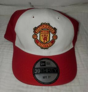 New Era 39Thirty Manchester United Soccer Infant Toddler Hat Cap New